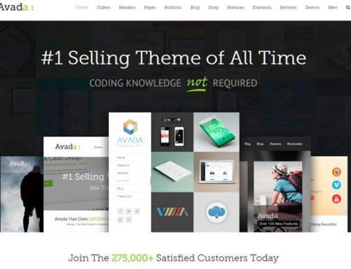 Как создать красивый сайт с темой Avada