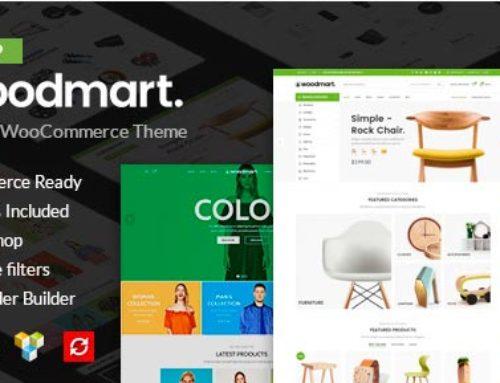 Обзор темы для woocommerce — «WoodMart»